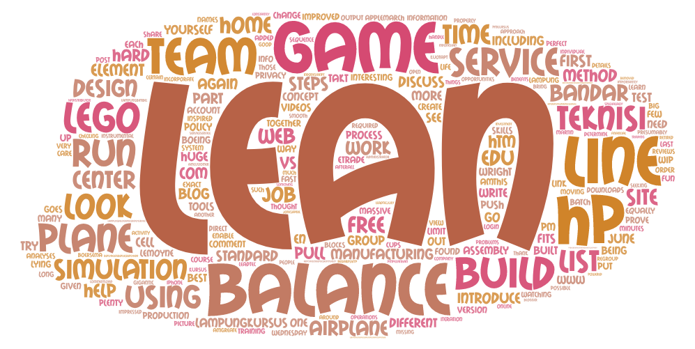 Line Balancing – A lean game with Lego airplanes – Global Continuous
